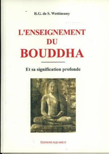 L'Enseignement du Bouddha par (Broché - Oct 1, 2003)
