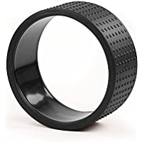 Yoga Wheel SAMSARA Premium, schwarz, 32 x 15 cm, Yoga Rad, Yoga-Zubehör, Yoga Ring, vielseitig einsetzbares Yoga-Hilfsmittel preisvergleich bei fajdalomcsillapitas.eu