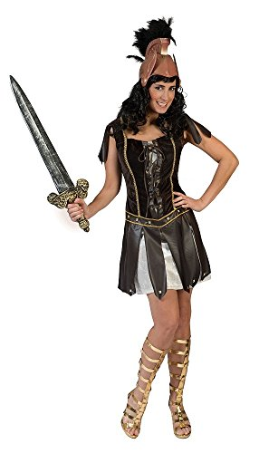 Pierro´s Kostüm Gladiatorin Quinta Damenkostüm Größe 36-38 (Asterix Der Gallier Kostüm)