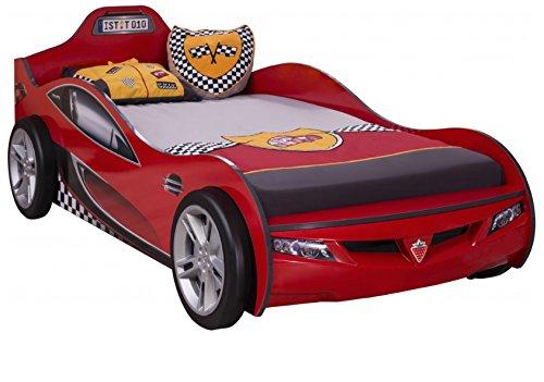 Cilek COUPE Rennfahrerbett Autobett Kinderbett Bett ROT (ohne Matratze)