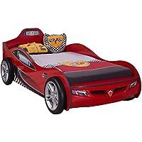 Preisvergleich für Cilek COUPE Rennfahrerbett Autobett Kinderbett Bett ROT (ohne Matratze)