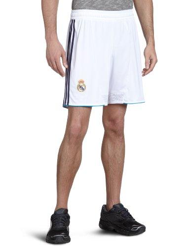 adidas Herren Shorts Real Madrid Home, Weiß/Schwarz, XL, x21990 (Fußball-shorts-herren-real Madrid)