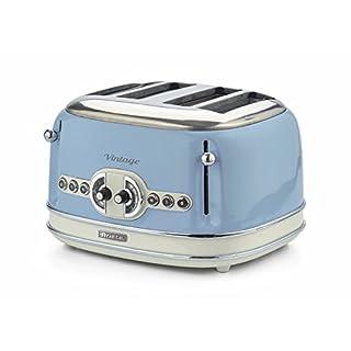 Ariete Vintage 156 LB Toaster 4 slice Retro Light Blue