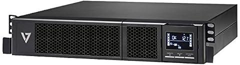 V7 UPS1RM2U1500-1E Uninterruptable Power Supply 1500VA Rackmount 2U (1350W, 8