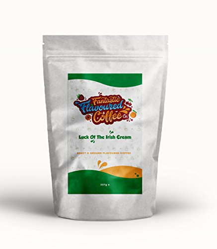 Café Molido Tostado Aromatizado, Fantastic Flavoured Coffee Company, Compatible con Todas las...