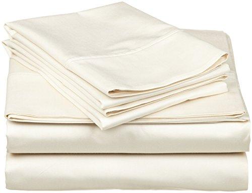 tula lino Collection te ofrece una cama de lujo a un precio asequible. Extravagante Colección hojas están diseñados para adaptarse a colchones de hasta 42cm). Hoja Tela está hecha de 100% algodón para una sensación ultra suave y fácil de limpiar. Te...