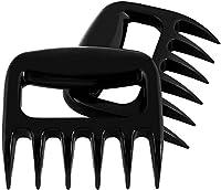 yohom barbacoa garras de carne handler forks-shredder cartucho para alimentos-Barbacoa grill de juego de 2negro