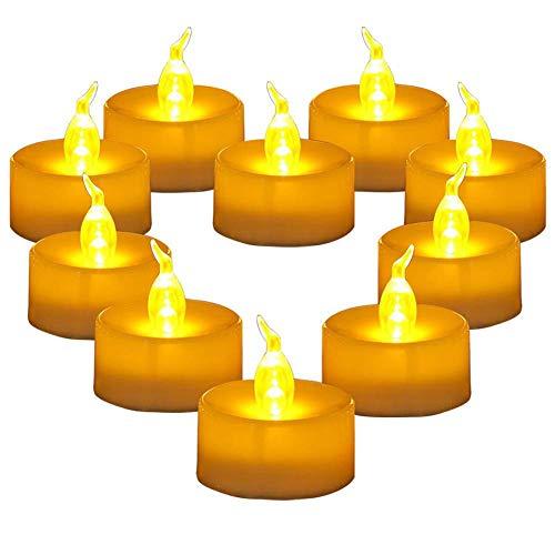 24 Led Kerzen,Led Flammenlose Flackern Tealights,Elektrische Kerze Lichter Batterie Dekoration Für Weihnachten, Weihnachtsbaum,Ostern,Hochzeit,Party