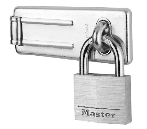 MASTER LOCK - 9140703EURD - Vorteilpack:  Überfalle + Aluminium Vorhängeschloss 40mm