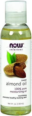 NOW Solutions Almond Oil Sweet 4 oz 100% Pure