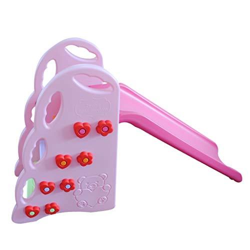 Hh001 Rutschen für Kinder Kleinspielzeug für Kinder in Innenräumen Rutschen im Wohnzimmer Kinderzimmer sehr sicher und gesunder Schutz sehr platzsparend ( Color : Yellow , Size : 138*42*84CM )
