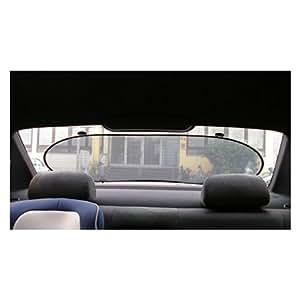 2 tech sonnenschutz f r auto heckscheibe 100x50cm auch optimal f r nachtfahrten auto. Black Bedroom Furniture Sets. Home Design Ideas