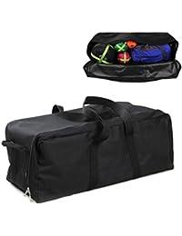 Large : Buwico® Lightweight Waterproof Heavy Duty Duffel Gear Bag Camping Big Equipment Bag Sport Oversized Travel...