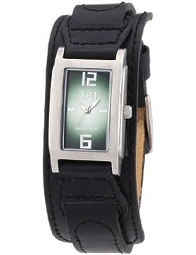 Just Watches Damen-Armbanduhr Analog Quarz Leder 48-S9253GR