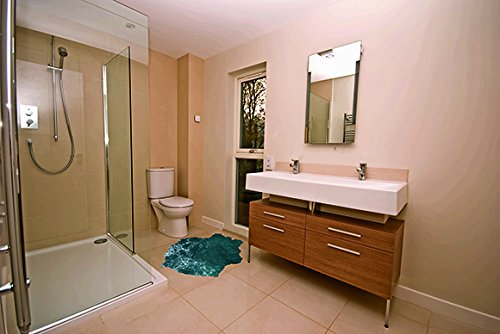 Vinilo adhesivo para suelo Baño agua 250x130cm | Adhesivo Incluido | Decoracion Habitación |Motivos paisajisticos |Baño agua|Multicolor | Diseño Elegante |