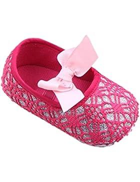 Babyschuhe Lauflernschuhe Krabbelschuhe Kleinkind Mädchen weiche Sohle Krippe Anti Rutsch Sneaker Luckygirls