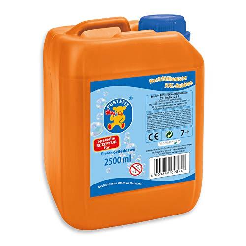 PUSTEFIX XXL-Bubbles Nachfüllkanister I 2,5 l Seifenblasenwasser