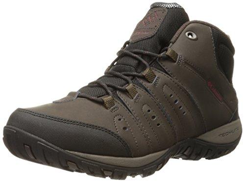 Columbia - Peakfreak Nomad Wp Omni-Heat, Sneakers da uomo, Nero (Cordovan, Garnet Red 231Cordovan, Garnet Red 231), 43 EU