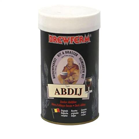 Brewferm ABBEY Bier Set 9L ABV 8.0% Selbst gebraut Strong Original Belgien Bier Brauen