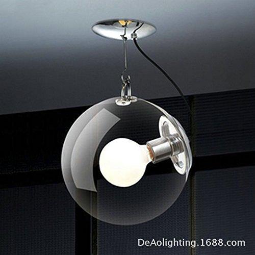 LINA-Creative minimalista bolla di sapone lampadari soggiorno ristorante camere da letto lampade di vetro