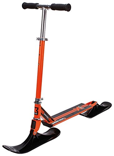 STIGA Schlitten Snow Kick Cross Schneebike Orange One Size