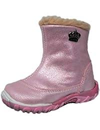 18352b6e327d0f ennellemoo® Mädchen-Baby-Kinder-Stiefel-Stiefeletten-Schuhe aus echt Leder