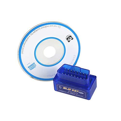 JOYFORWA Bluetooth ELM327 OBD2 OBDII Drehmoment KANN Scanner Auto Fahrzeug GPS Echtzeit Tracker für Android Autoradio Car Stereo (Obd2 Kann)