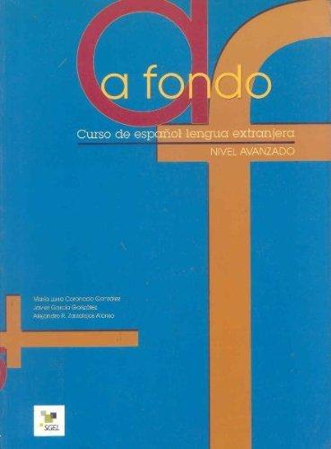A Fondo 1 Avanzado: Student Book by Coronado Gonzalez (2003-11-10)
