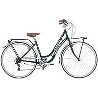 CINZIA Beauty Bicicleta de Paseo, Adultos Unisex, Verde, M