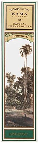 Kama Ayurveda Natural Incense Sticks Citrathai (30 Sticks), 50g