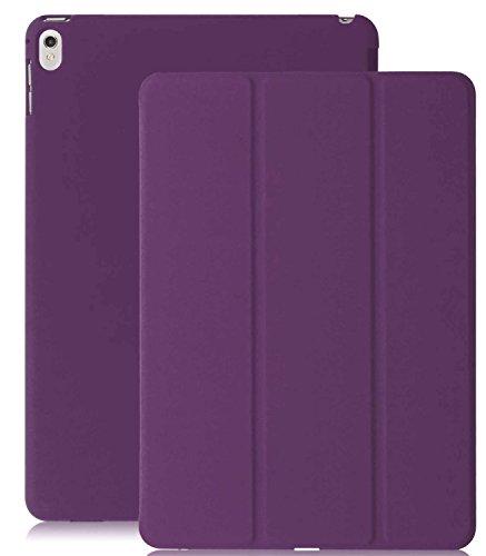 KHOMO iPad Pro 9.7 Zoll Hülle Case Violett Gehäuse mit Doppelten Schutz Ultra Dünn und Leicht, Smart Cover Schutzhülle fur das Neue Apple iPad Pro 9.7 - Dual Purple