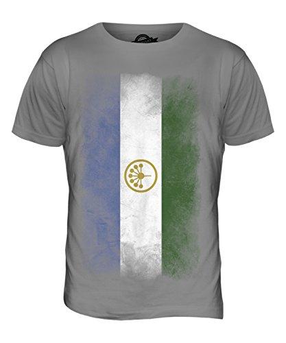 CandyMix Baschkortostan Verblichen Flagge Herren T Shirt Hellgrau