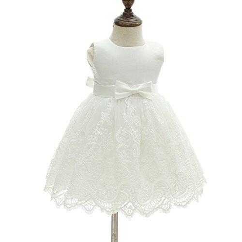 409cf4cad621 AHAHA Vestito Battesimo Neonata Sposa Vestito da Principessa Bambina ...