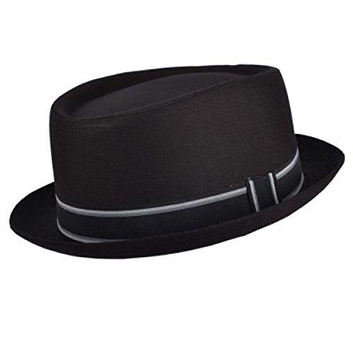 Hawkins - Chapeau porkpie - Homme noir noir