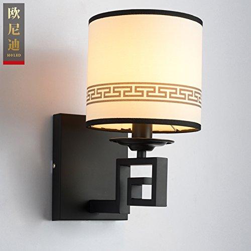 GaoHX Wrought-Iron Chinesische Moderne Kreisförmige Lampen Und Lampenschirme Gang Beleuchtung Im Wohnzimmer An Der Wand Lampe (160*220*300) (Kreisförmige Lampenschirme)