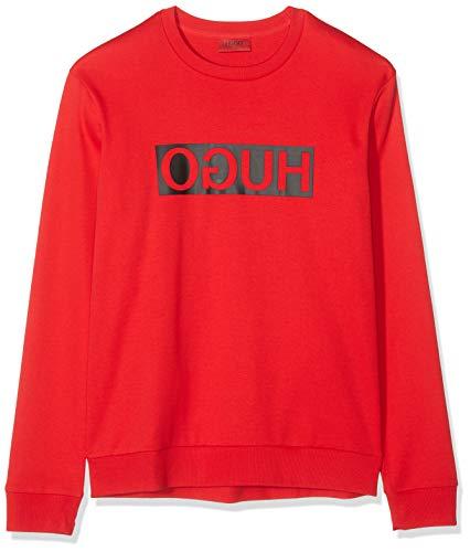 HUGO Herren Dicago194 Sweatshirt, Rosa (Open Pink 693), X-Large (Herstellergröße: XL)