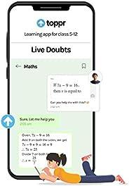 Toppr Live Doubts, 3 Months (Activation Key Card)