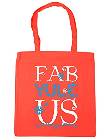 HippoWarehouse Fab-Yule-Us Tote Shopping Gym Beach Bag 42cm x38cm, 10