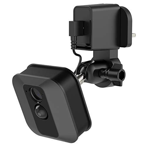 nero supporto regolabile a 360/° per la visione migliore della fotocamera di sicurezza Blink Holaca supporto ad angolo per fotocamera Blink XT per interni ed esterni e Blink