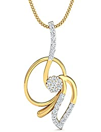 Stylori 18k Yellow Gold And Diamond The Myra Pendant Pendant