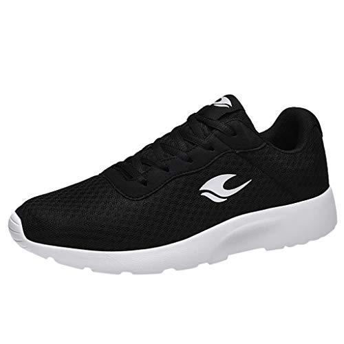 ➤Refill➤ Laufschuhe Herren Turnschuhe Sportschuhe Straßenlaufschuhe Outdoor Leichtgewichts Laufschuhe Freizeit Atmungsaktive Fitness Schuhe Sneaker
