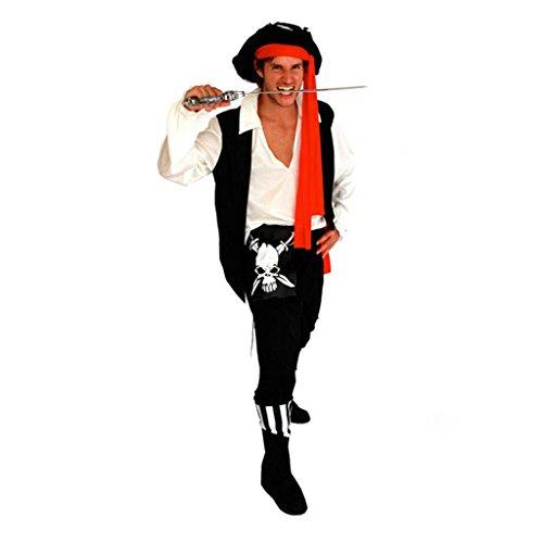 Halloween-Kostüm-Set Cosplay Vampir-Partei verkleiden Sich Stützen (Farbe : Pirate)