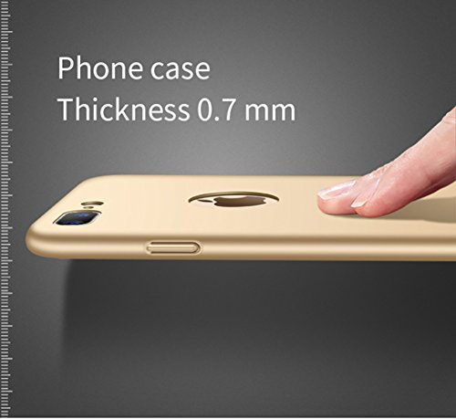 iPhone 7 case, Trocent ultra-sottile Slim coperchio antiurto semplice elegante completamente custodia protettiva opaca per Apple iPhone 7 11,9 cm, Rose Gold, iphone 7