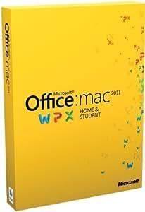 Office für Mac 2011 Home & Student (Family Pack / englisch)