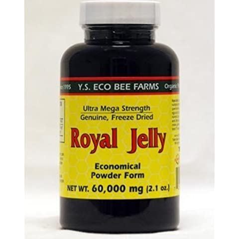100% Pure Fresh Royal Jelly 60,000 mg YS Eco Bee