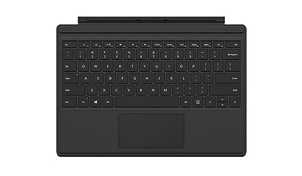 Microsoft R9q 00022 Surface Pro 4 Type Cover German Keyboard Black