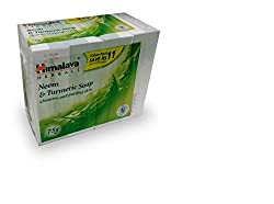 Himalaya Neem and Turmeric Soap, 75gm (Pack of 4