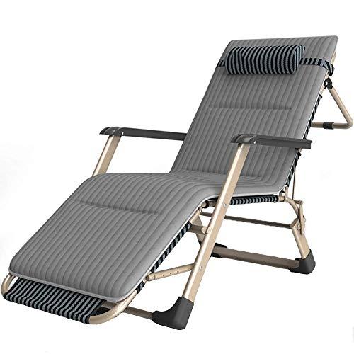 LAZ Patio Klappstuhl Schwerelosigkeit Lehnstühle Büro Lounge Stuhl Mittagspause Stuhl Bett Übergröße Einstellbare Unterstützung £ 350 (Color : C)