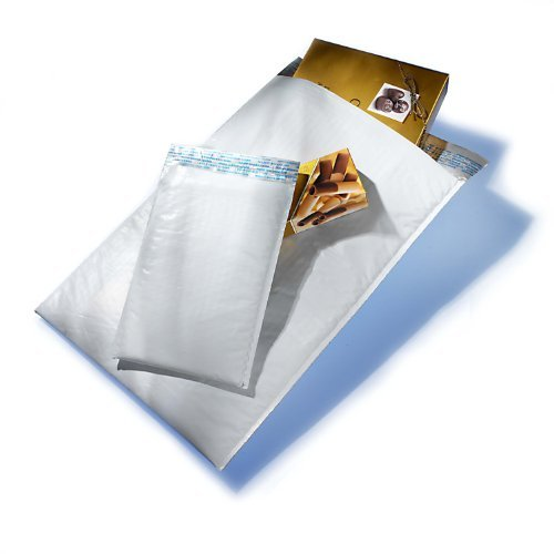 AJ#00 5 X 9.25 POLY BUBBLE MAILERS (250/CS) by Air Jacket