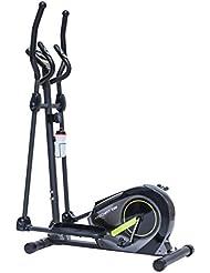 TechFit TE380 Vélo elliptique Adulte Unisexe, Grise, Taille Unique